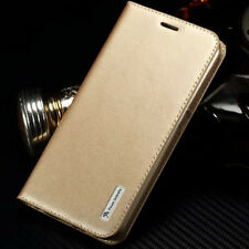 Genuine Leather Magnetic Flip Wallet Card Case Cover For Samsung Galaxy Note 5