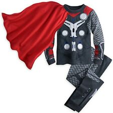 NWT Disney Store Cape Thor Costume PJ Pal Marvel's Avengers Age of Ultron NEW