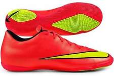 NIKE MERCURIAL VICTORY V IC Indoor Soccer Shoes Sz 10.5 Hyper Punch 651635-690