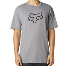 Fox Racing NEW Mx Legacy Ageless Moto T-Shirt FMX Motocross Grey Mens Tee Shirt