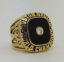 "World championship ring Boston Bruins 1970 Hockey ""BOBBY ORR"" Size 9-13 Gift"