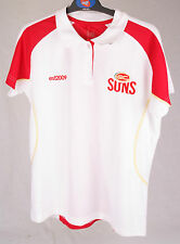 Official AFL Gold Coast Suns Ladies Premium Polo Size 14