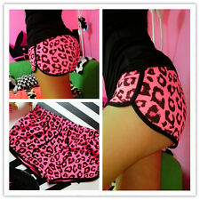 New Women Sexy Stretchy High Waist Casual Summer Leopard Print Hot Shorts Pants