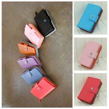6 Colors Lady's Envelope Wallet Case Purse For Samsung Galaxy Iphone 4 4S LG US
