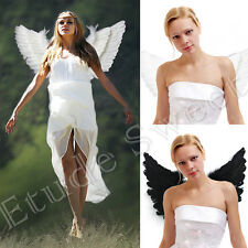 Up Elf Angel Fairy Feather Wings Christmas Fancy Dress Costume Accessory Party