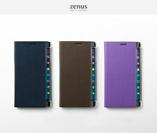Zenus Metallic Diary Wallet Cover Phone Case Skin for Samsung Galaxy Note Edge