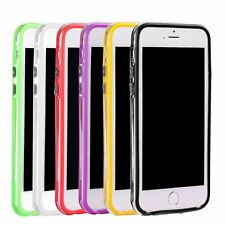 TPU Silicone Frame Case Cover Bumper For Apple iPhone 6 Plus / 6S Plus