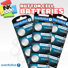 Button cell batteries 3V CR2016 CR2025 CR2032 DL2016 DL2025 DL2032 (EVERACTIVE)