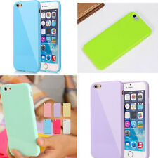 Cute Candy TPU Silicone Rubber Gel Case Cover for iphone 4 4s 5 5s 5c 6 6S plus