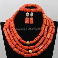 Indian Bridal Jewelry Set,Woman Party Coral Jewelry African Costume Jewelry Sets