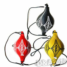 Good Double End Boxing Sparring Speed Ball Focus Training Punching Bag MMA New