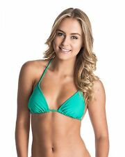NEW ROXY™  Womens Surf Essentials Tiki Tri Separate Bikini Top Womens Swimwear M