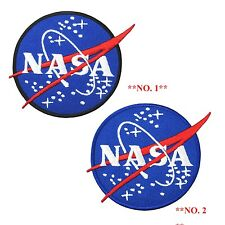 NASA Agency Space Program Logo Embroidered Iron on Patch Space Discovery Fancy 2