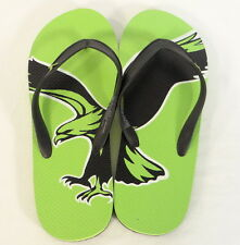 American Eagle Outfitters Green & Black Thong Sandals Flip Flops Mens NEW