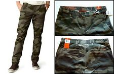 Dockers Alpha Khaki Slim-Fit Flat-Front Tapered Leg Camo Pants NWT 100% Cotton
