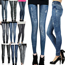 Sexy Womens Skinny Denim Stretch Jeggings Trousers Jeans Pants Leggings KN