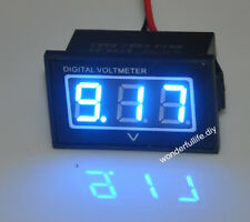 Waterproof Monitor 12 Volt Battery Meter 2.5-30V DC Auto Gauge Digital Voltmeter