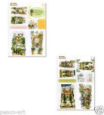 Docrafts Michael Powell Die Cut Toppers A4 12pcs Midnight Garden Tuscany