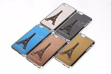 Luxury Metal+PC Hard Case 3D Embossed Eiffel Tower iPhone 6-6s 4.7 Cover 5 Color
