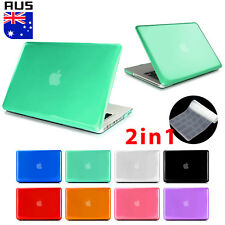 "Crystal Hard Case + Keyboard Cover For Apple MacBook Air 11"" 13"" Pro 13 inch"