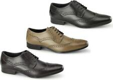 Catesby Shoemakers RICHARD Mens Leather Lace Up Smart Casual Derby Brogues Shoes
