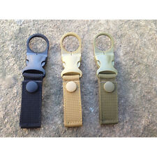 Multifunction EDC Outdoor Tactical Nylon Webbing Buckle Bottle Hanging Bottles