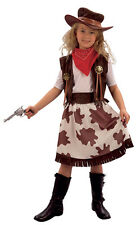 #CHILD COWGIRL BOOK WEEK FANCY DRESS COWBOY & INDIAN OUTFIT ALL AGES