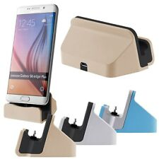 USB 2.0 Charger & Data Sync Charging Dock Station Cradle Stand For Samsung HTC