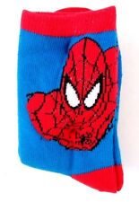 Marvel Comics Spider-Man Toddler Boys Socks 6 Pairs Pack Set Sizes 2-5 5-8 8-11