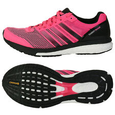 Adidas Women's Q3 Stripes Adizero Boston Boost 5 Running Shoes M18815