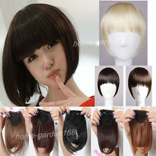US Super Sale Clip in on Bang Fringe Hair Extensions 100% Real Quality hair sy20