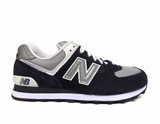 New Balance Men's 574 Core Collection Navy/Grey M574BGS