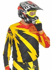 Troy Lee Designs Yellow-Black 2014 GP Cyclops MX Jersey