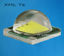 10W Cree Single-Die XM-L LED T6 White Warm White 1040Lm@3000mA led chip For DIY
