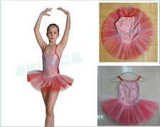 Baby Princess Girls Kid Dance Leotard Gymnastics Leotards Tutu Skirt Costume NWT