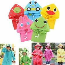 Cute Funny Waterproof Raincoat Outwear Children Cartoon Rain Coat Kids Rainwear