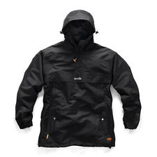 Scruffs OVER THE HEAD TRADE Work Jacket Black (All Sizes) Waterproof Mens Coat