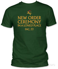 New Order - In A Lonely Place T-Shirt Green New Shirt Tee