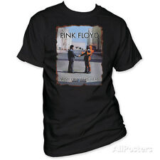 Pink Floyd - Wish You Were Here (Burnt Edges) T-Shirt Black Licensed Mens Shirt