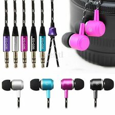 3.5mm Super Bass Stereo Headphone Earphone Headset Casque For iPhone LG Samsung