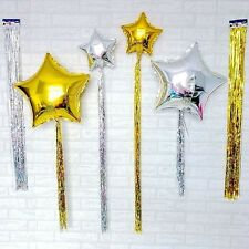 Shimmer Foil Tinsel Coloured For Foil Balloons Birthday Party Wedding Decoration