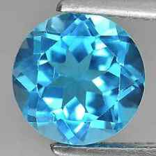 Cubic Zirconia Bright Swiss Blue Round AAA Rated CZ Loose Stones (1mm - 15mm)