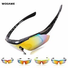 Polarized Cycling Glasses Bike Riding Sports Sunglasses Casual Goggles 5 Lens