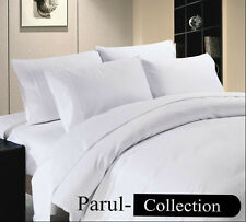 Super Soft New Collection White Solid 1000 TC 100% Egyptian Cotton All Size