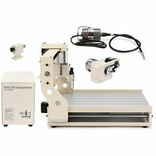 3040C CNC ROUTER ENGRAVER ENGRAVING MACHINE 4 AXIS CARVING DRILLING CUTTER