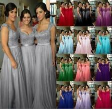 New Wedding Evening Party Gown Prom Bridesmaid Dress 2 4 6 8 10 12 14 16 18 20
