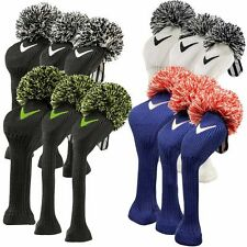 **BN Callaway Vintage Pom Pom Headcovers All Colours & Sizes Available**