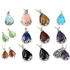 Fashion Lovers Natural Quartz Crystal Chakra Gemstone Bead Pendant For Necklaces