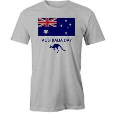 Australia Day Flag T-Shirt Aussie Australian Proud Aus Tee New