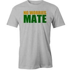 No Worries Mate T-Shirt Australia Day Aussie Australian Slang Lingo